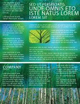 Nature & Environment: Bos Flyer Template #02415