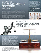 Legal: Judicial Flyer Template #02523