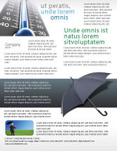 Business Concepts: Umbrella Flyer Template #02562