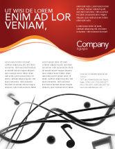 Art & Entertainment: Music Flyer Template #02687
