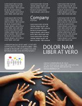 Religious/Spiritual: Modelo de Folheto - diversidade #02689