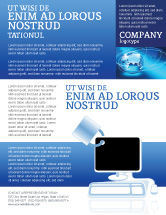 Consulting: Computer Shield Software Flyer Template #02745