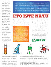 Education & Training: Natural Sciences Flyer Template #02780