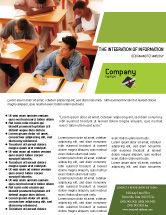 Education & Training: Modelo de Folheto - certificado de grau #02855