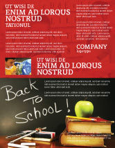 Education & Training: Back To School Flyer Template #02867