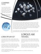 Careers/Industry: Diamonds Flyer Template #02938