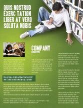 Education & Training: Self-education Flyer Template #02948