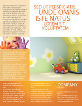 Education & Training: Day Nurseries Flyer Template #02974