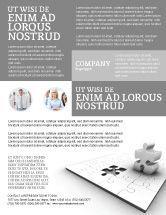Business Concepts: Part Flyer Template #02984