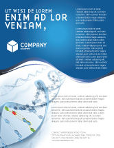 Technology, Science & Computers: Genes Flyer Template #03031