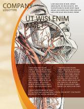 Medical: Craniofacial Anatomy Flyer Template #03127