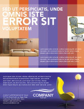 Art & Entertainment: Comfort Flyer Template #03182