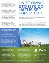 Technology, Science & Computers: Ökologisches umfeld Flyer Vorlage #03184