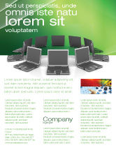 Technology, Science & Computers: Modello Volantino - Rete di affari #03336