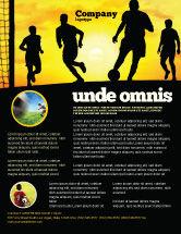 Sports: European Football Flyer Template #03372