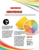 Business Concepts: Color Diversity Flyer Template #03498