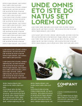 Food & Beverage: Green Tea Ceremony Flyer Template #03551