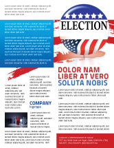 America: USA Elections Flyer Template #03595