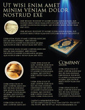 Religious/Spiritual: Koran Flyer Template #03651