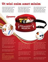 Medical: Medical Kit Flyer Template #03674