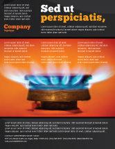 Careers/Industry: Modelo de Folheto - fogão a gás #03675