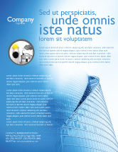 Construction: Office Center Flyer Template #03678