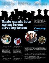 Education & Training: Graduates Flyer Template #03685