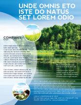 Nature & Environment: Landscape Flyer Template #03688