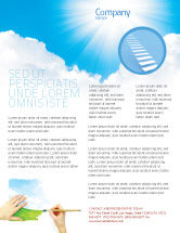Nature & Environment: Heaven Flyer Template #03799