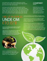 Nature & Environment: Green Planet Flyer Template #03867