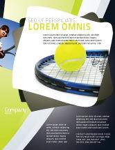 Sports: Tennis Ball Flyer Template #03918