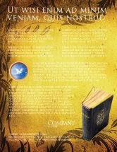 Religious/Spiritual: Christian Bible Flyer Template #03936