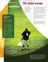Sports: Modelo de Folheto - futebol americano na escola #03952