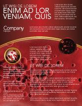 Medical: Blood Flyer Template #03987