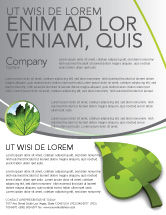 Nature & Environment: Green Ideas Flyer Template #04090