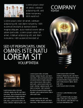 Business Concepts: Electric Light Flyer Template #04138