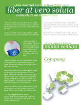 Business Concepts: Recycle Technology Flyer Template #04181