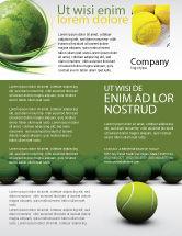 Sports: Tennis Balls Flyer Template #04296