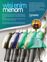 Careers/Industry: Modelo de Folheto - gasolina #04391