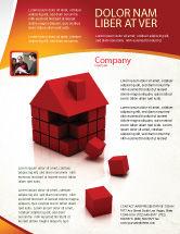 Construction: Modelo de Folheto - 3d cubos edifício #04463
