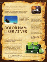 Careers/Industry: Travel Tour Flyer Template #04473