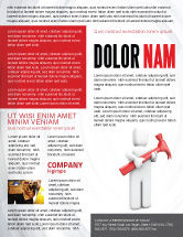 Utilities/Industrial: Hammer Man Flyer Template #04496