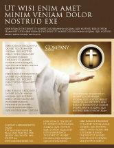 Religious/Spiritual: St Family Religion Flyer Template #04579