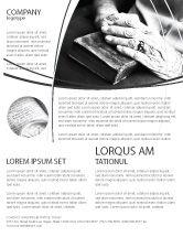 Religious/Spiritual: Modelo de Folheto - bom livro #04645
