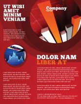 Financial/Accounting: Modelo de Folheto - indicador econômico #04671