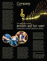 Art & Entertainment: Modern Music Flyer Template #04739