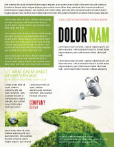 Nature & Environment: Green Path Flyer Template #04785