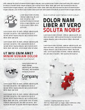 Consulting: Inserting Missing Part Flyer Template #04980