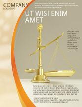 Legal: Fairness Flyer Template #04996