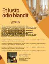 Careers/Industry: Hotel Restaurant Flyer Template #05392